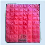 Dog Cooling Blanket Fleece Red - rozmiar XS
